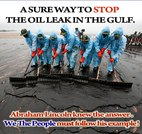 A sure way to stop the oil leak - oil leak picture